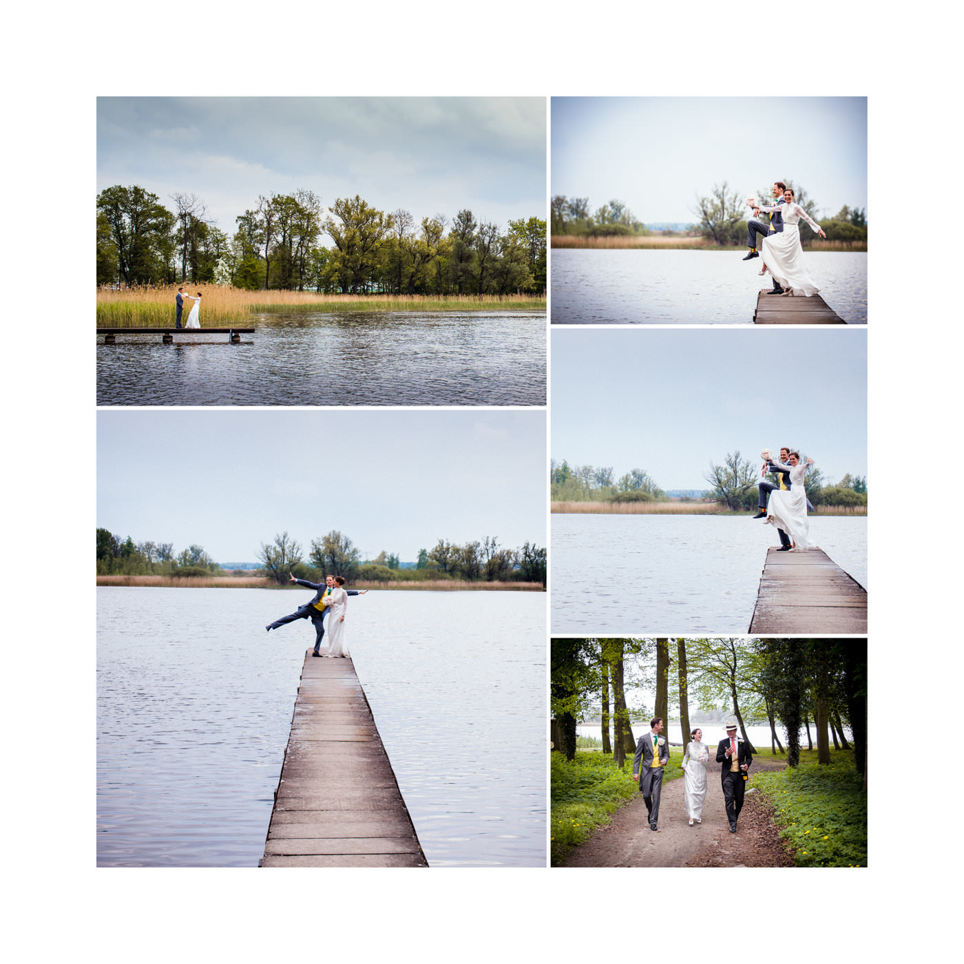 Caro & Albi | Wedding at Gushof Wilsickow in the Uckermark, North of Berlin, Germany