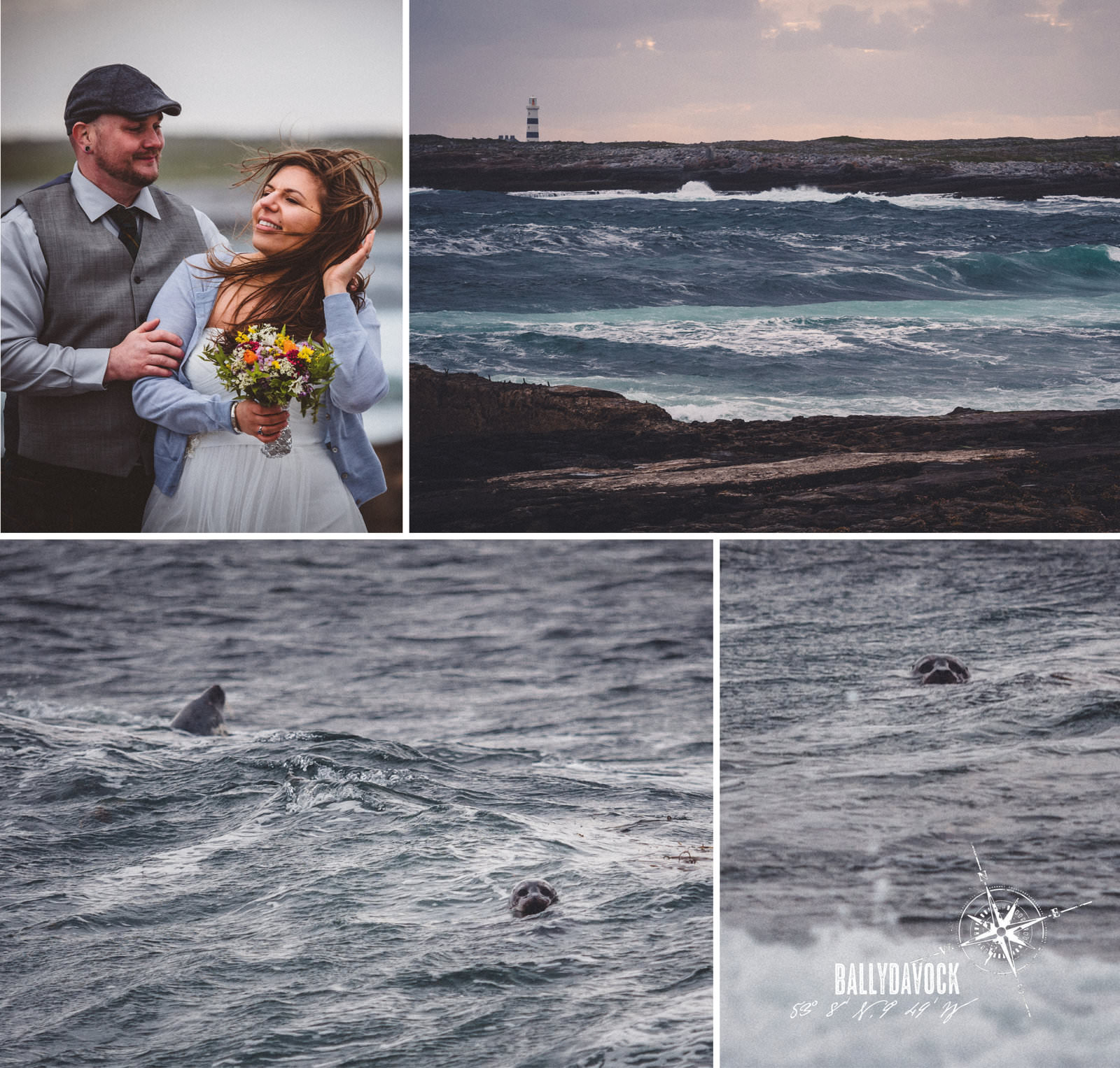 Elopement of Melissa & Chad on Inishmore, Aran Islands, Ireland