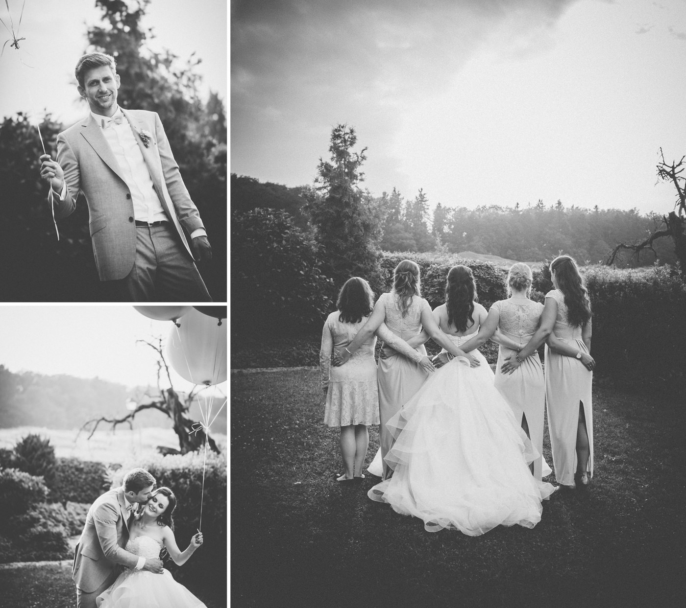 Wedding at Hofgut Georgenthal - a fairytale wedding with fantastic portraits in the hills of the Taunus