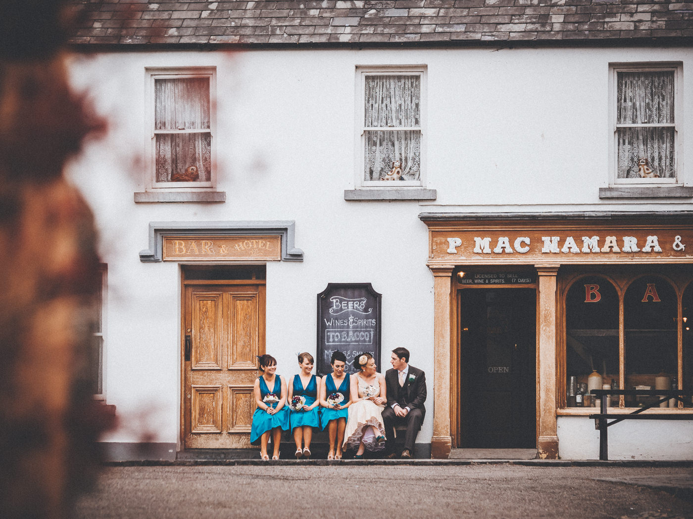 wedding photos county clare, bunratty folk park