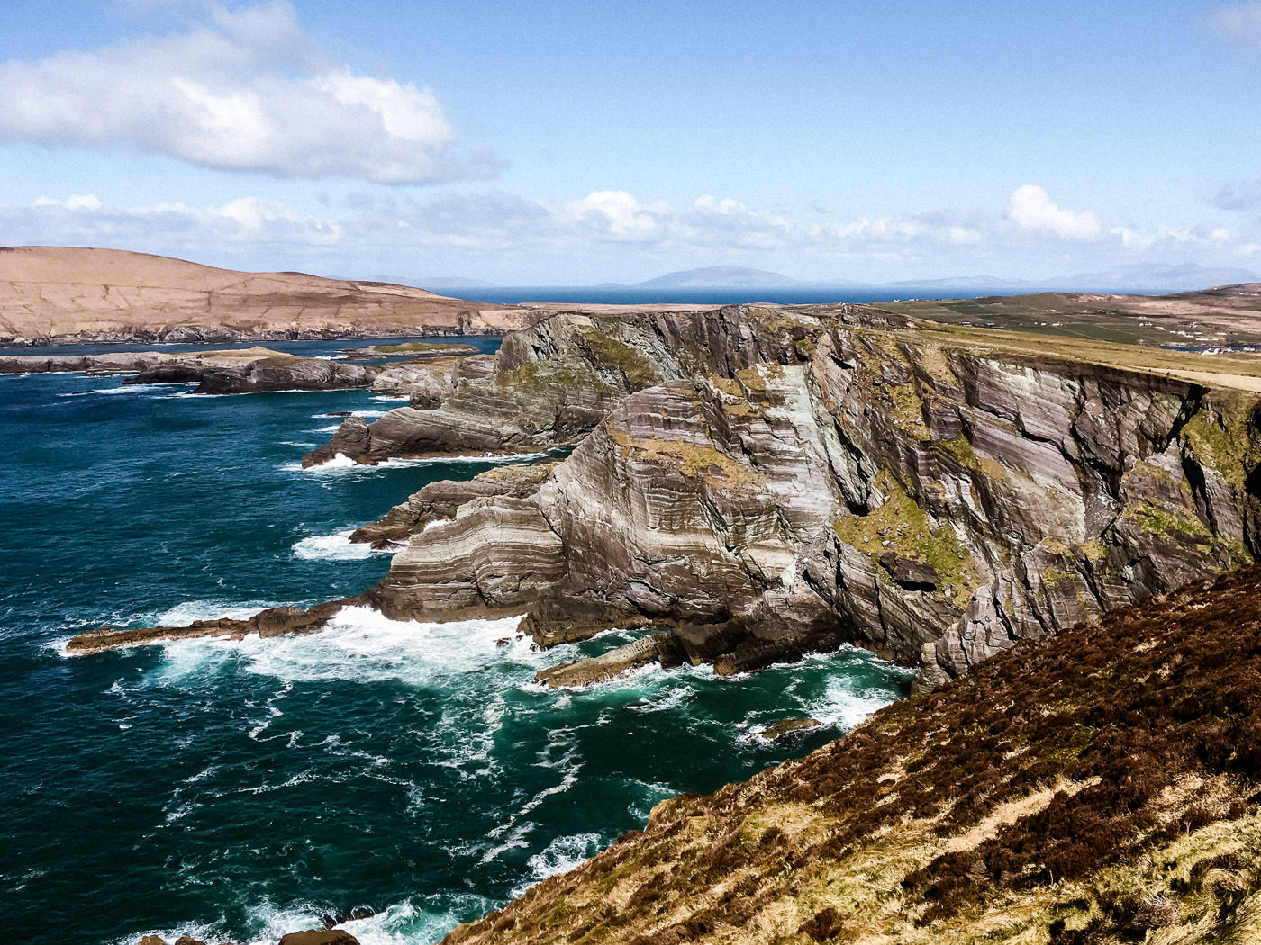 Irlandtrip im März 2018 - Cliffs of Kerry