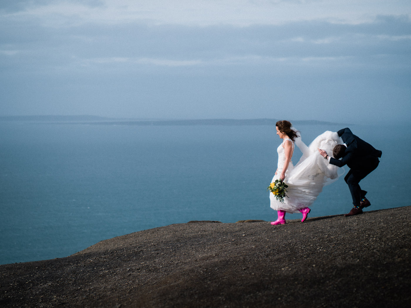 Hochzeit in West-Clare - Liscannor, Cliffs of Moher, Ennistymon